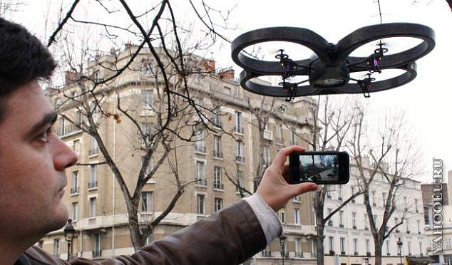 "Полёт Quadcopter""а"