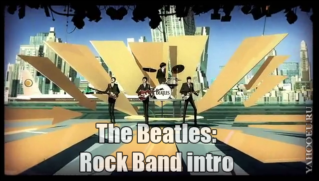 The Beatles: Rock Band intro